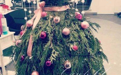 Une robe de bal végétale