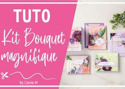 Kit projet bouquet magnifique